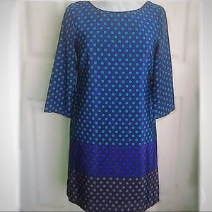 Old Navy Dresses - Old Navy Multicolored Polka Dot Shift Small Petite